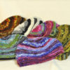 W 036 Knitted Ribbed Short Wool Beanies Colours
