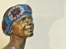 W 039 Wool Silk Ear Warmer Head Band All colours