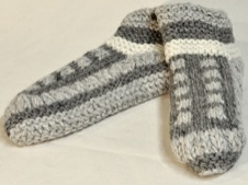 W 042 Short Lined House Socks colours